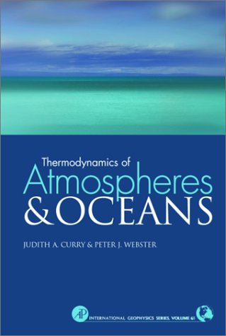 Thermodynamics of Atmospheres and Oceans   1999 edition cover