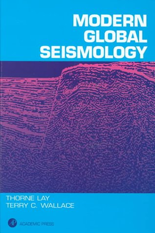 Modern Global Seismology   1995 edition cover