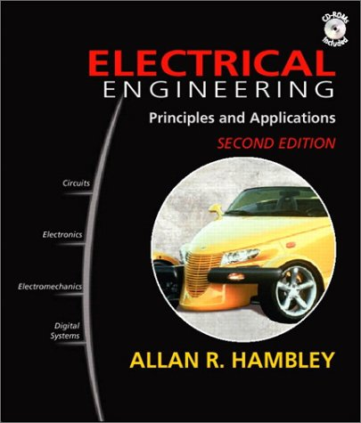 Electrical Engineering Principles and Applications 2nd 2002 edition cover