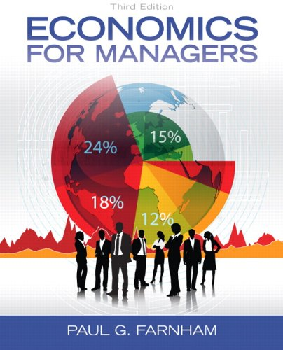 Economics for Managers  3rd 2014 9780132773706 Front Cover