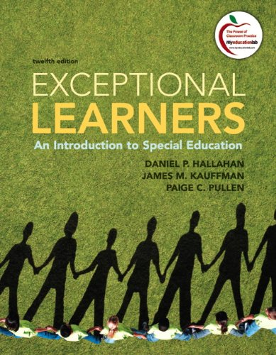Exceptional Learners An Introduction to Special Education 12th 2012 9780137033706 Front Cover