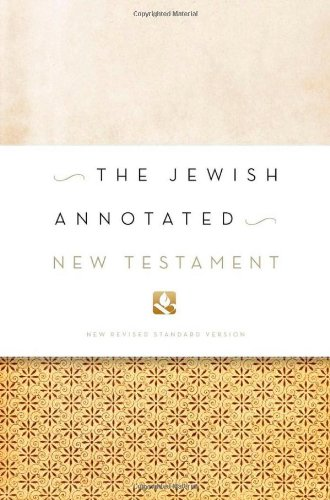 Jewish Annotated New Testament   2011 edition cover