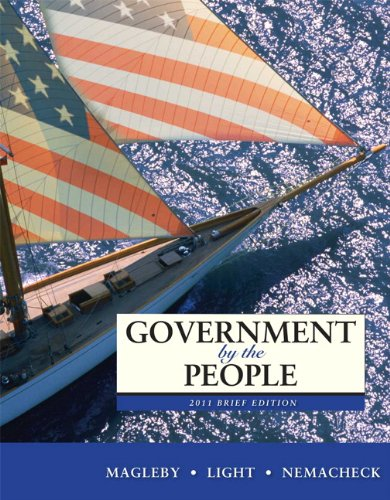 Government by the People  9th 2011 (Brief Edition) edition cover