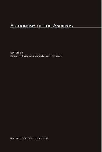 Astronomy of the Ancients   1981 9780262520706 Front Cover
