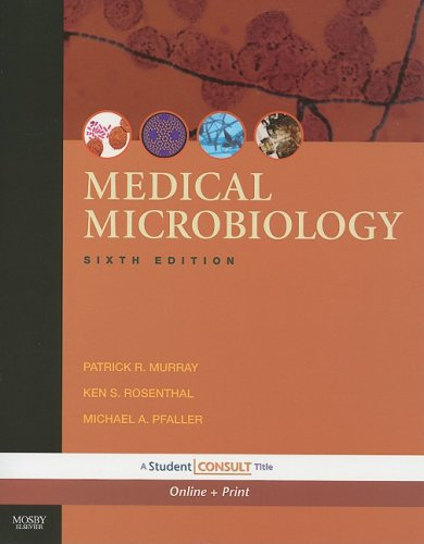 Medical Microbiology With STUDENT CONSULT Online Access 6th 2009 edition cover