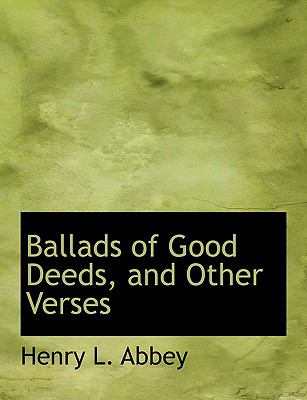 Ballads of Good Deeds, and Other Verses:   2008 edition cover