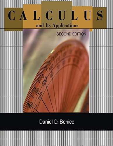 CALCULUS+ITS APPL.:CHP.1-10 >C 2nd 1997 edition cover