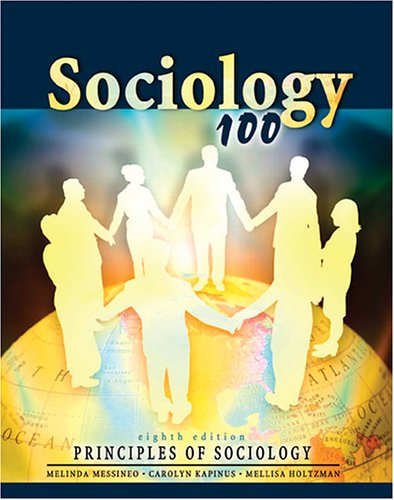 Sociology 100 Principles of Sociology 8th 2005 (Revised) 9780757521706 Front Cover