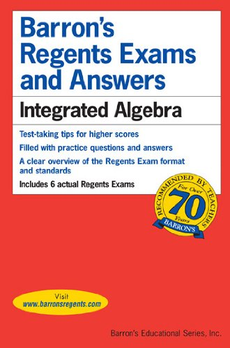Integrated Algebra   2015 (Guide (Pupil's)) edition cover