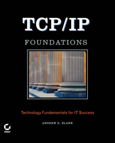 TCP/IP Foundations   2004 edition cover