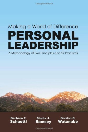 Making a World of Difference. Personal Leadership  N/A 9780979716706 Front Cover