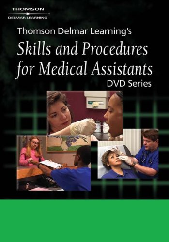 Delmar's Skills And Procedures for Medical Assistants: Clinical Series  2003 9781401838706 Front Cover