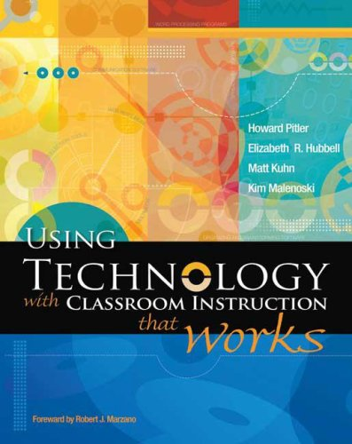 Using Technology with Classroom Instruction That Works   2007 edition cover