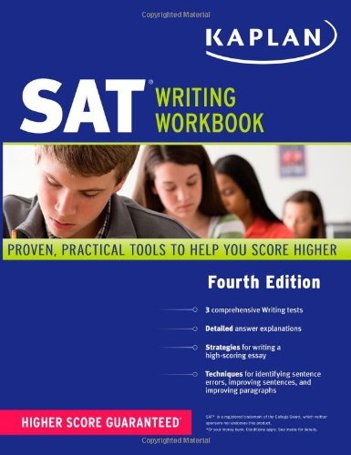 Kaplan SAT Writing Workbook  4th (Workbook) edition cover