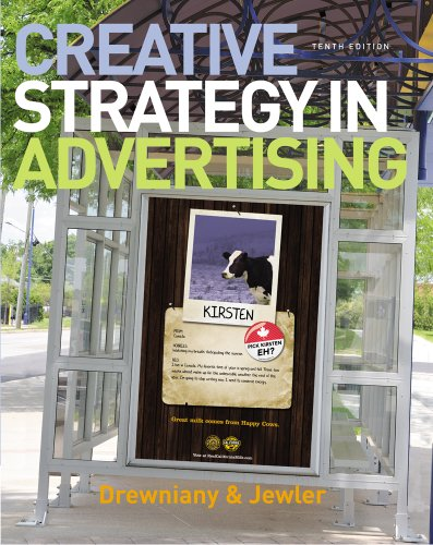 Creative Strategy in Advertising  10th 2011 edition cover