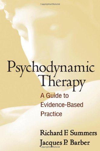 Psychodynamic Therapy A Guide to Evidence-Based Practice  2010 edition cover