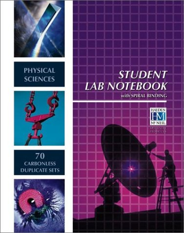 Physical Sciences Student Lab Notebook   2003 edition cover