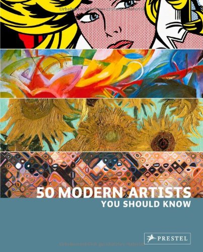 50 Modern Artists You Should Know   2010 edition cover