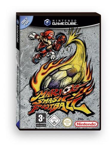 Mario Smash Football GameCube artwork