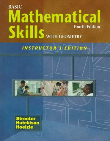 Basic Mathematical Skills with Geometry 4th 1998 edition cover
