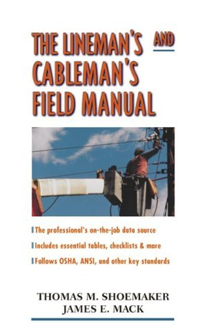 Lineman's and Cableman's Field Manual   2000 9780071354707 Front Cover