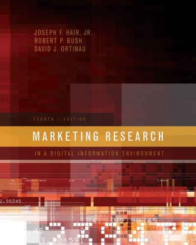 Marketing Research  4th 2009 (Revised) edition cover