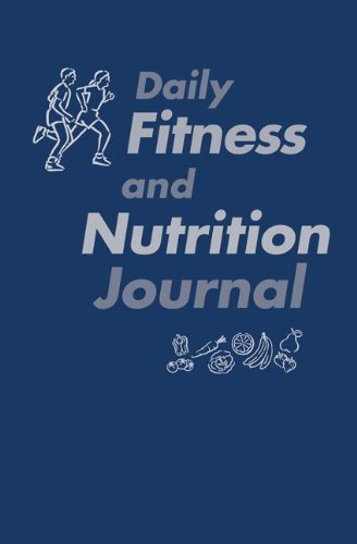 Daily Fitness and Nutrition Journal  9th 2011 edition cover