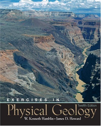 Exercises in Physical Geology  12th 2005 edition cover