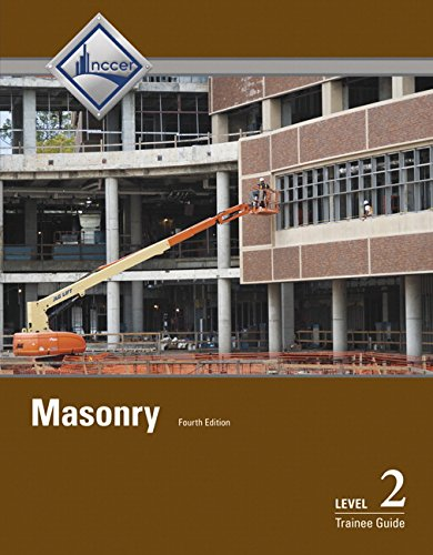 Masonry Level 2 Trainee Guide  4th 2015 edition cover