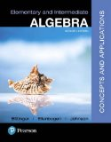 Elementary and Intermediate Algebra: Concepts & Applications  2017 9780134462707 Front Cover