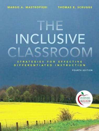Inclusive Classroom Strategies for Effective Instruction 4th 2010 edition cover