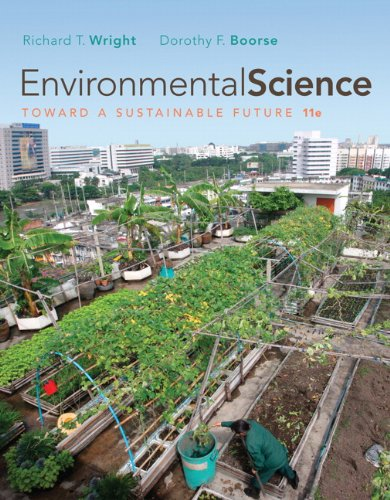 Environmental Science Toward a Sustainable Future 11th 2011 edition cover