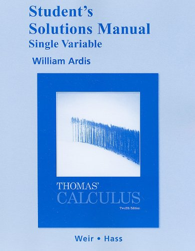 Calculus  12th 2010 edition cover