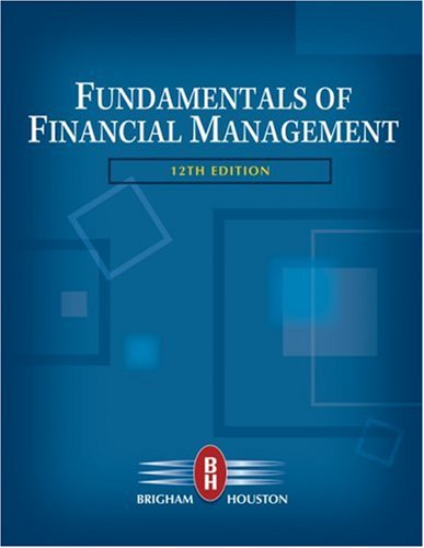 Fundamentals of Financial Management  12th 2010 edition cover