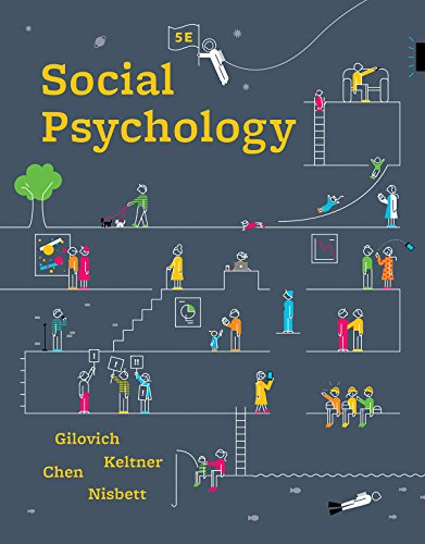 Social Psychology:   2018 9780393667707 Front Cover