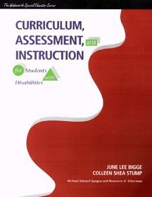 Curriculum, Assessment and Instruction for Students with Disabilities   1999 edition cover