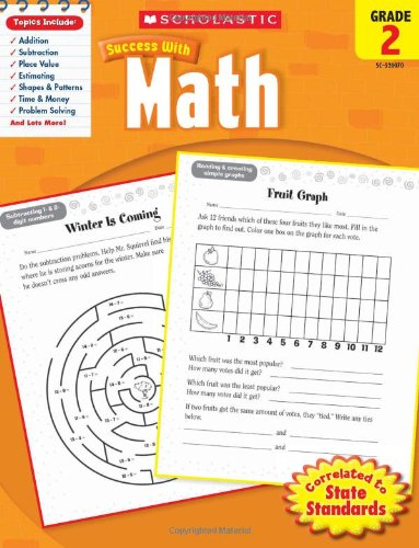 Scholastic Success with Math   2010 9780545200707 Front Cover