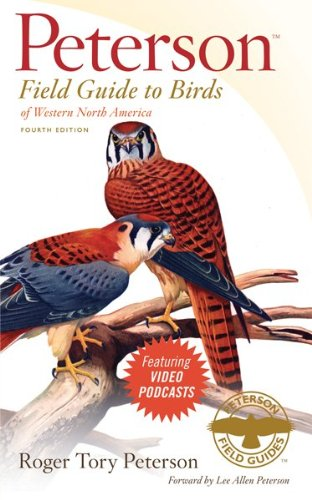 Birds of Western North America  4th 2009 edition cover