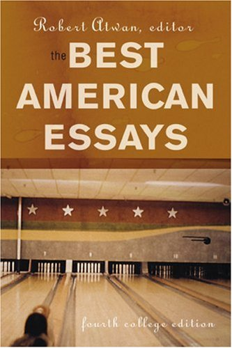 Best American Essays  4th 2004 edition cover