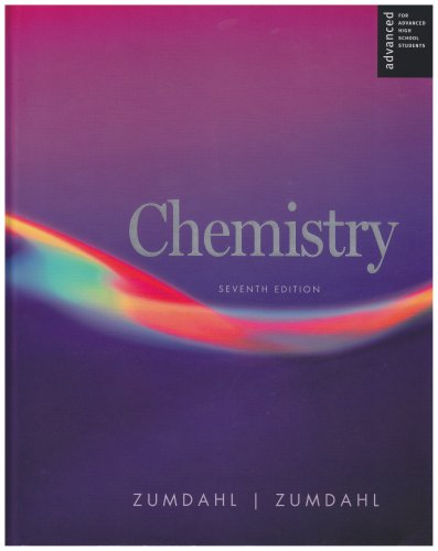Chemistry Advanced Placement  7th 2007 9780618713707 Front Cover
