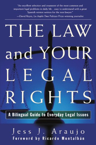 Law and Your Legal Rights/A Bilingual Guide to Everyday Legal Issues   1998 edition cover