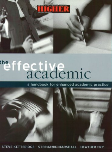 Effective Academic A Handbook for Enhanced Academic Practice  2001 9780749435707 Front Cover