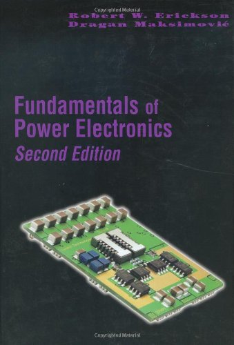 Fundamentals of Power Electronics  2nd 2001 (Revised) edition cover