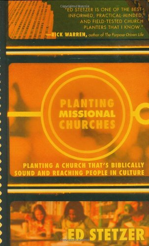 Planting Missional Churches  N/A edition cover