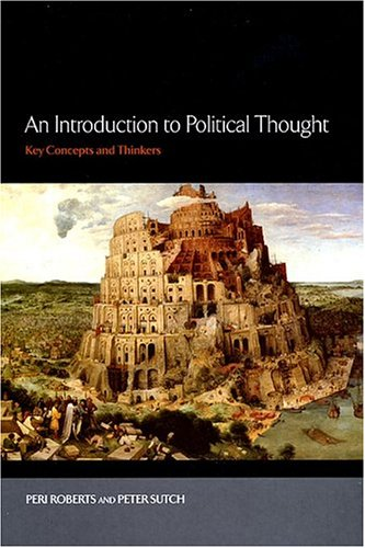 Introduction to Political Thought Key Concepts and Thinkers  2004 edition cover