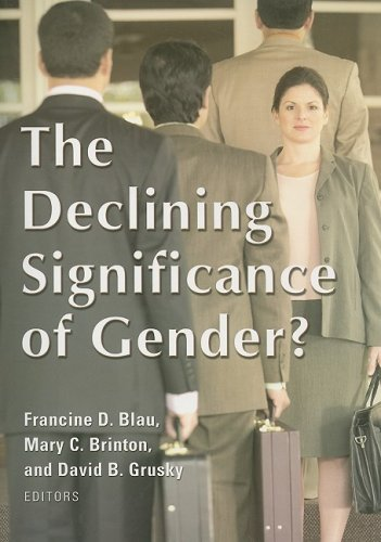 Declining Significance of Gender   2009 edition cover