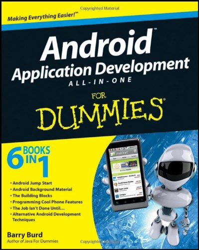 Android Application Development All-in-One for Dummies�   2011 edition cover