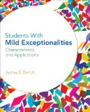 Students with Mild Exceptionalities Characteristics and Applications  2014 9781412974707 Front Cover