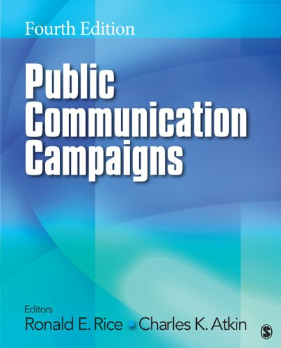 Public Communication Campaigns  4th 2013 edition cover