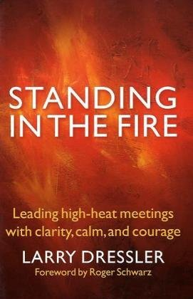 Standing in the Fire Leading High-Heat Meetings with Clarity, Calm, and Courage  2010 9781576759707 Front Cover